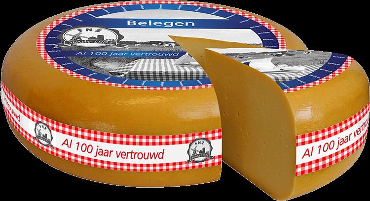 Belegen kaas door FNZ Kaas