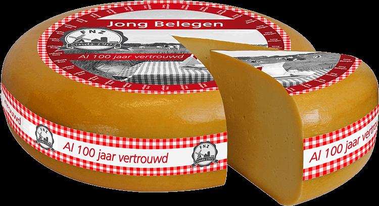 Jong belegen kaas door FNZ Kaas