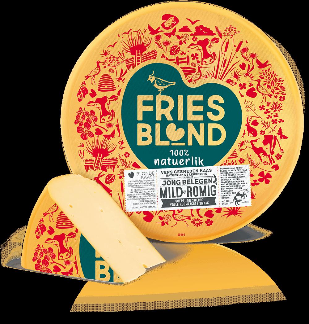 Bestel Friesblond jong belegen kaas 48+ online bij FNZ Kaas
