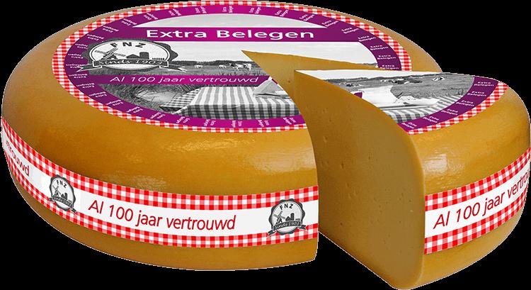 Extra belegen kaas door FNZ Kaas